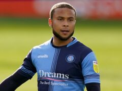 Curtis Thompson scored the winner for Wycombe (Tess Derry/PA)