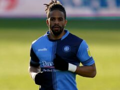Garath McCleary could return to Wycombe's starting XI (Tess Derry/PA)