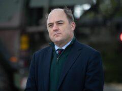 Defence Secretary Ben Wallace (Andrew Matthews/PA)