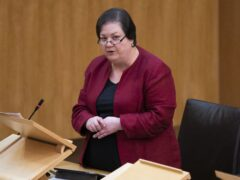Jackie Baillie said the contract was 'deeply troubling' (Jane Barlow/PA)