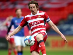 Doncaster's Tom Anderson has a 50-50 chance of being involved against MK Dons (Nigel French/PA)
