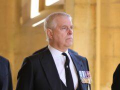 The Duke of York (Chris Jackson/PA)