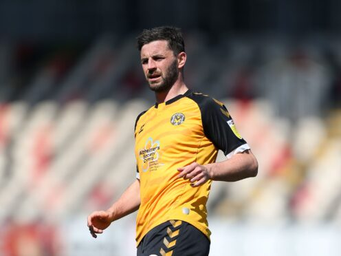 Padraig Amond cannot face his parent club (Nigel French/PA)