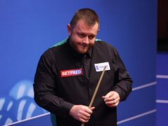 Mark Allen won the Northern Ireland Open by beating John Higgins (George Wood/PA)