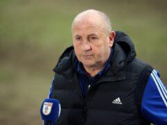 Accrington manager John Coleman (Nigel French/PA)