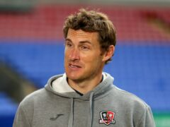 Exeter manager Matt Taylor says wins are coming (Tim Markland/PA)