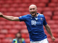 Christopher Kane netted a first-half brace for St Johnstone (Andrew Milligan/PA)
