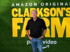 Jeremy Clarkson at the launch event for Clarkson's Farm (Ian West/PA)