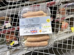 It is a challenge to find GB sausages on shelves in Northern Ireland (Liam McBurney/PA)