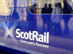 Unite the Union confirmed ScotRail engineering workers will take plart in strikes planned during Cop26 (Jane Barlow/PA)