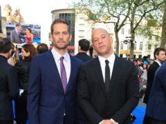 Paul Walker and Vin Diesel (Ian West/PA)