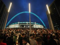 Wembley will be without fans next June (PA)