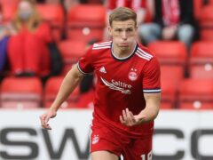 Lewis Ferguson admits Aberdeen's results have not been good enough. (Steve Welsh/PA)