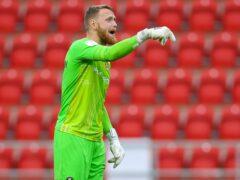 Rotherham goalkeeper Viktor Johansson is a doubt (Barrington Coombs/PA)
