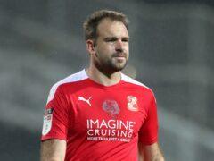 Brett Pitman's late equaliser earned Bristol Rovers a point (Nick Potts/PA).