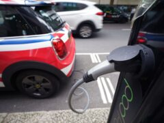 New investment in the plans includes £620 million for electric vehicle grants (Yui Mok/PA)