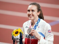 Laura Muir has set her sights on gold at Birmingham 2022 (Mike Egerton/PA)