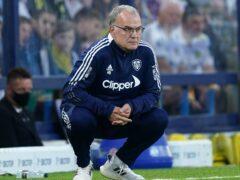 Marcelo Bielsa says Leeds are not creating enough goalscoring chances (Mike Egerton/PA)