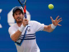 Andy Murray returned to winning ways (Seth Wenig/PA)