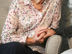 Care home resident (Andrew Matthews/PA)