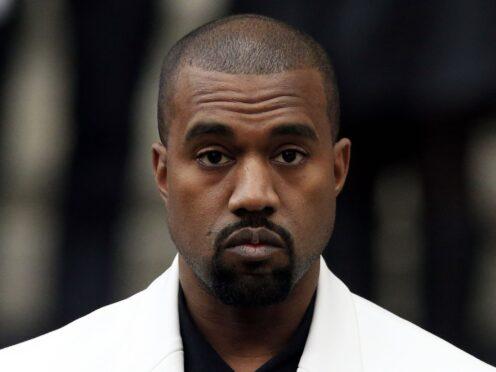 Kanye West (Jonathan Brady/PA)
