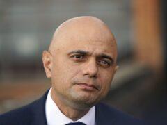 Health Secretary Sajid Javid (Steve Parsons/PA)