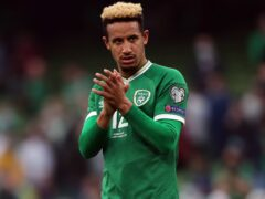 Republic of Ireland manager Stephen Kenny and team-mate John Egan have defended Callum Robinson's (pictured) Covid-19 stance (Niall Carson/PA)