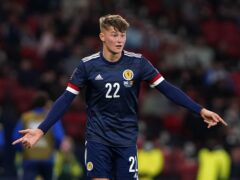 Scotland's Nathan Patterson is focused on his football (Andrew Milligan/PA)