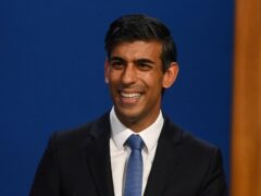 Chancellor of the Exchequer Rishi Sunak (PA)