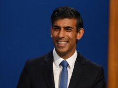 Chancellor Rishi Sunak is due to announce in the Budget that public pay restraint will end (Toby Melville/PA)