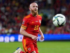 Wales international Jonny Williams scored his first goal for Swindon (Nick Potts/PA)