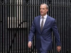 Justice Secretary Dominic Raab is expected to announce more funding for electronic tagging (Stefan Rousseau/PA)
