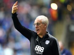 Mick McCarthy suffered a sixth straight league defeat in the south Wales derby at Swansea (Mike Egerton/PA)