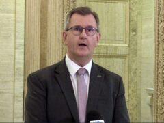 DUP leader Sir Jeffrey Donaldson (David Young/PA)