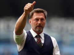 Southampton manager Ralph Hasenhuttl was backed by the club this week and believes that elusive first Premier League win is just around the corner (Martin Ricketts/PA)