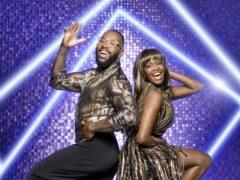 Ugo Monye and Oti Mabuse (Ray Burmiston/BBC)