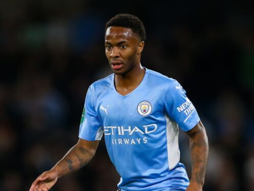 Raheem Sterling's Manchester City future has been in the spotlight (Barrington Coombs/PA)