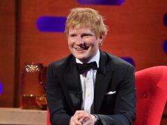 Ed Sheeran has joined The Voice US as a 'mega mentor' (Matt Crossick/PA)