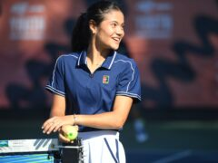 Emma Raducanu is scheduled to play four tournaments over the next six weeks (Jeremy Selwyn/Evening Standard/PA)