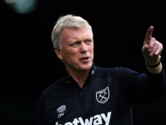 David Moyes wants West Ham to be welcomed in the Europa League and for their fans to behave themselves (Zac Goodwin/PA)