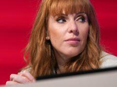 Labour Party deputy leader Angela Rayner (Gareth Fuller/PA)