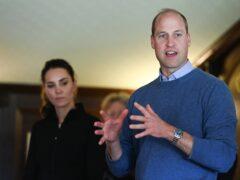 The Duke of Cambridge said society must unite to repair the planet (PA)