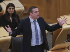 Douglas Ross accepted the invitation extended by the First Minister (Fraser Bremner/Scottish Daily Mail/PA)
