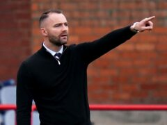 James McPake's Dundee edged Aberdeen on Saturday (Jane Barlow/PA)