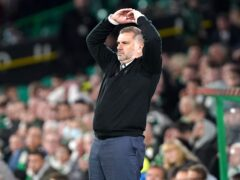 Celtic manager Ange Postecoglou has turned his attention to Aberdeen (Andrew Milligan/PA)