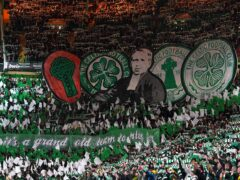 Celtic fans will need to clear their Tuesday afternoon to make kick-off (Andrew Milligan/PA)