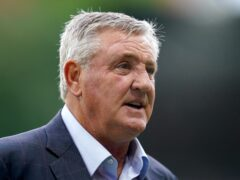 Newcastle head coach Steve Bruce will take charge of his 1,000th game as a manager against Tottenham (Nick Potts/PA)