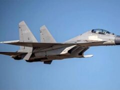 China has sent fighter planes on missions over Taiwanese territory over the weekend (Taiwan Ministry of Defence via AP)