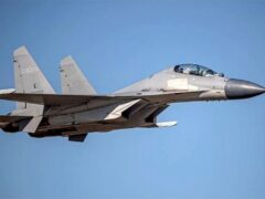 Taiwan said Chinese fighter jets again flew into its air space in two sorties on Saturday (Taiwan Ministry of Defence/AP/PA)