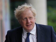 Prime Minister Boris Johnson (Jacob King/PA)